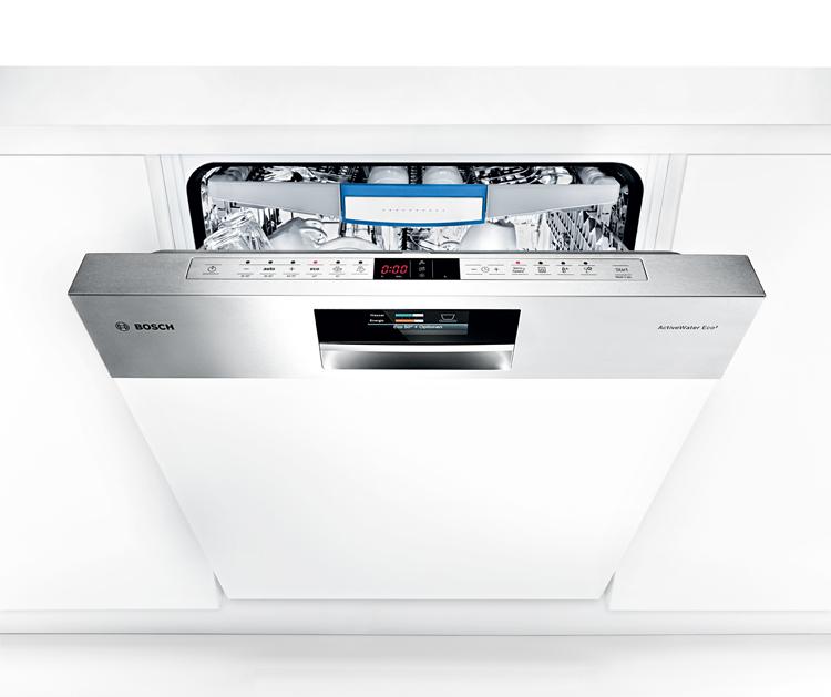 Lavavajilla-integrable-abierto-botones